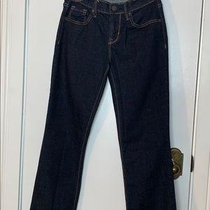 Old Navy dark blue original boot cut jeans size 00